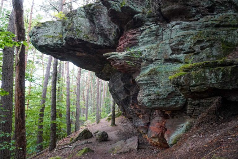 Rodalber Felsenwanderweg Trekking Pfalz